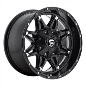 Fuel Off-Road D531 Hostage Wheel in Matte Black 17x9 with 5in Backspace  D53117902650