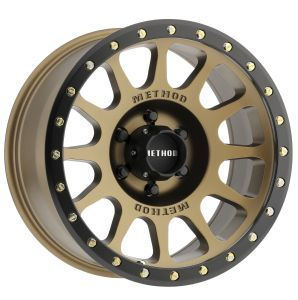"Method Race Wheels 305 NV Bronze Alloy Wheel in 17x8.5 Size with 5x5 Bolt Pattern & 4.75"" Backspacing MR30578550900"
