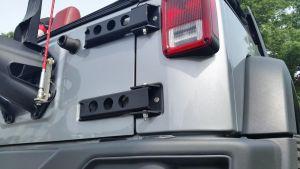MorRyde Tailgate Hinge Heavy Duty For 2007-18 Jeep Wrangler JK 2 Door & Unlimited 4 Door Models JP54-003