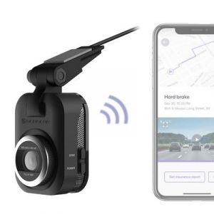 Scosche NEXS1 Full HD Smart Dash Cam with Adhesive Mount (32GB Micro-SD) NEXS10032-ET