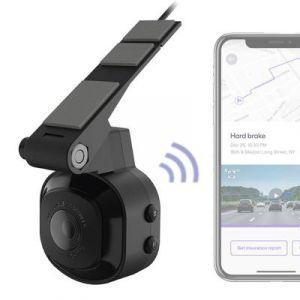 Scosche NEXC1 Full HD Smart Windshield Dash Cam with Adhesive Mount (16GB Micro-SD) NEXC10016-SP1
