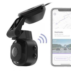 Scosche NEXC1 Full HD Smart Windshield Dash Cam with Suction Cup Mount (32GB Micro-SD) NEXC11032-SP1A