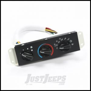 Omix-ADA Air Conditioning & Heater Control Unit For 1999-04 Jeep Wrangler TJ With Air Conditioning 17903.06