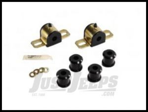 Energy Suspension Rear Sway Bar Bushing Set in Black For 1997-06 Jeep Wrangler & Unlimited (16MM) 2.5111G