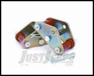 "Daystar Front Greasable Tow Shackles 0"" Lift 1987-95 YJ Wrangler KJ61019BK"