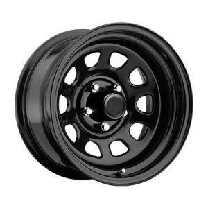 Pro Comp 51 Series Rock Crawler, 15x8 Wheel with 5 on 5 Bolt Pattern - Gloss Black 51-5873