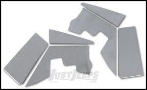 Poison Spyder (Bare Aluminum) DeFender Fenders XC High-Line | Inner Fenders For 1997-06 Jeep Wrangler TJ & TLJ Unlimited Models 14-02-099
