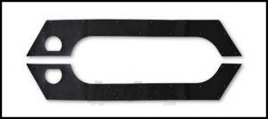 Poison Spyder Rubber Rocker Liners For 2007-18 Jeep Wrangler JK 2 Door Models 17-08-310