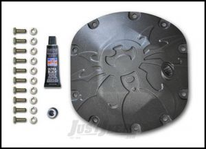 Poison Spyder Dana 30 Bombshell Differential Cover For 1976+ Jeep Models With Dana 30 Axle (Bare Steel) 42-11-030