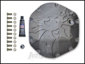 Poison Spyder Dana 44 Bombshell Differential Cover Gen2 For 1976+ Jeep Models With Dana 44 Axle (Bare Steel) 42-11-044