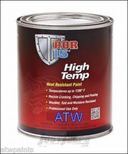 POR-15 High Temp Paint 8oz In Flat Black 44116