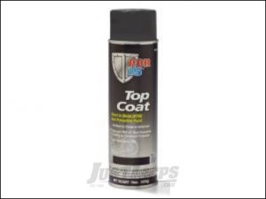 POR-15 Top Coat 14oz Spray Can In Chassis Black 45918