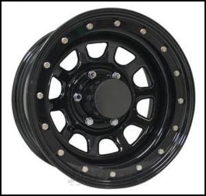 Pro Comp Series 252 Street Lock Wheel 15x10 With 5 On 4.50 Bolt Pattern & 3.75 Backspace In Gloss Black PCW252-5165
