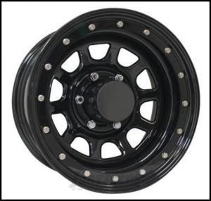 Pro Comp Series 252 Street Lock Wheel 15x8 With 5 On 5.50 Bolt Pattern & 3.75 Backspace In Gloss Black PCW252-5885