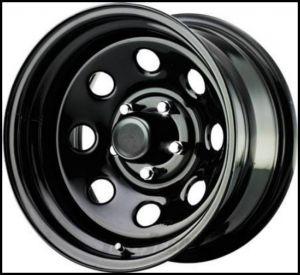 Pro Comp 97 Rock Crawler Series Wheel 15x8 With 5 On 4.50 Bolt Pattern & 3.75 Backspace In Flat Black PCW97-5865F