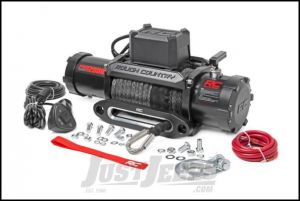 Rough Country Pro 12K Electric Winch With Synthetic Cable Rated For 12,000lbs. PRO12000S
