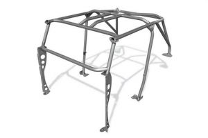 Poison Spyder Fully Welded Roll Cage with Grab Handles for 1997-2006 Jeep Wrangler TJ 14-19-010-WG