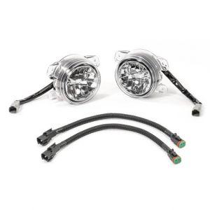 Quadratec JK Style LED Fog Lamp Kit for 97-04 Jeep Wrangler TJ & Unlimited 97109.0072