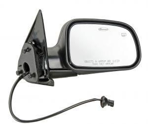 Quadratec Passenger Side Heated Power Mirror for 99-04 Jeep Grand Cherokee WJ 13111.0714
