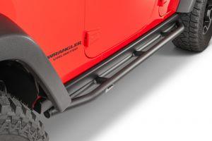 Quadratec QRC Rock Sliders for 07-18 Jeep Wrangler Unlimited Rubicon JK 4-Door 12004.3221