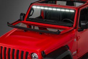 "Quadratec LED Interior Mount 50"" Stealth Light Bar 1-Piece for 18-20+ Jeep Wrangler JL & Gladiator JT 97109.1400"