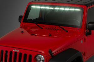 "Quadratec LED Interior Mount 50"" Stealth Light Bar For 2007-18 Jeep Wrangler JK 2 Door & Unlimited 4 Door Models 97109.1402"