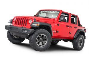 Quadratec Front & Rear Door Hinges for 18-20 Jeep Wrangler JL Unlimited 4-Door 13009.0321