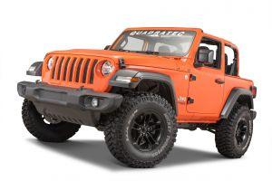 Quadratec Front Door Hinge Set for 18+ Jeep Wrangler JL 2-Door 13009.0320