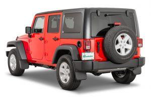 Quadratec Molded Splash Guards for 07-18 Jeep Wrangler JK, JKU 1254-