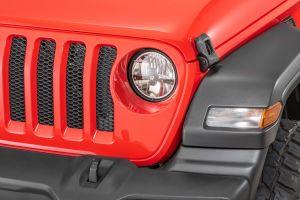 Quadratec Gen II LED Headlights for 18+ Jeep Wrangler JL & Gladiator JT 97109J-