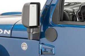Quadratec Door Fill Plates for 07-18 Jeep Wrangler JK, JKU 13125.0211