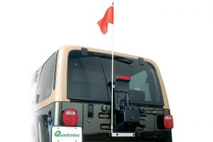 Quadratec Trail Flag Kit for 87-06 Jeep Wrangler YJ, TJ & Unlimited 96081.000