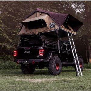 Road Armor TRECK Adjustable Bed Rack System for 20+ Jeep Gladiator JT 500BRS52B