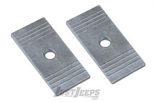 """Rubicon Express 2.5"""" Wide 4 Degree Aluminum Leaf Spring Shims RE1466"""