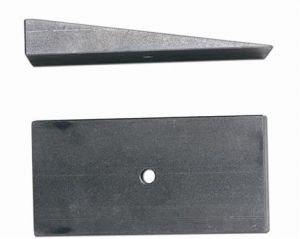 """Rubicon Express 2.5"""" Wide 8 Degree Steel Leaf Spring Shims RE1469"""