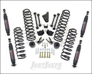 """ReadyLIFT 4"""" SST Lift Kit With Shocks For 2007+ Jeep Wrangler JK 2 Door & Unlimited 4 Door Models 69-6401"""
