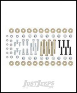 Rubicon Express Extreme Duty Cross Canadamember Hardware Kit For 2003-06 Jeep Wrangler TJ Models HWC10125