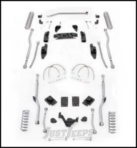 """Rubicon Express 3.5"""" Extreme Duty 4-Link Front With Rear Radius Long Arm Lift Kit Without Shocks For 2007-18 Jeep Wrangler JK 4 Door Unlimited Models JK4R43"""