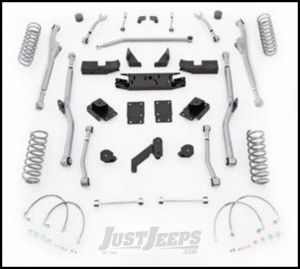 """Rubicon Express 3.5"""" Extreme Duty Radius Front & Rear Long Arm Lift Kit Without Shocks For 2007-18 Jeep Wrangler JK 2 Door Models JKRR23"""