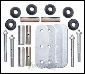 """Rubicon Express 5"""" Greaseable Shackle Kit Front or Rear For 1987-95 Jeep Wrangler YJ RE2766"""