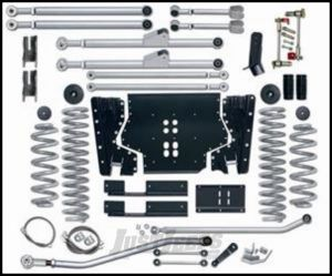 """Rubicon Express 4.5"""" Extreme-Duty Long Arm Kit With Rear Track Bar Kit Without Shocks For 1997-02 Jeep Wrangler TJ RE7204"""