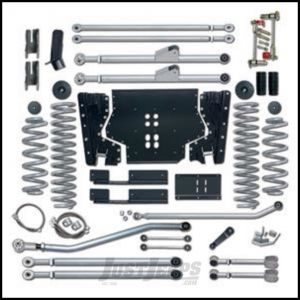 """Rubicon Express 4.5"""" Extreme-Duty Long Arm Kit With Rear Track Bar Kit Without Shocks For 2004-06 Jeep Wrangler TLJ Unlimited RE7224"""