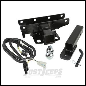 """Rugged Ridge Rear Hitch Kit 2"""" With 1 7/8"""" Ball For 2007-18 Jeep Wrangler JK 2 Door & Unlimited 4 Door Models 11580.53"""