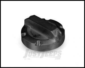 Rugged Ridge Billet Aluminum Oil Cap In Black For 2007-11 Jeep Wrangler & Wrangler Unlimited JK 11431.04