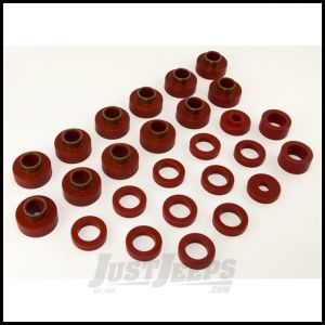 Rugged Ridge Body Mount Kit Red For 1981-86 CJ8 26 Pieces 18351.04