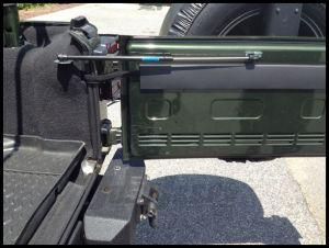 Rugged Ridge Hydraulic Tailgate Assist Kit For 2007-10 Jeep Wrangler & Wrangler Unlimited JK 11252.55