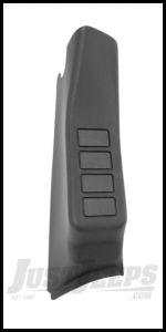 Rugged Ridge Passenger Side A-Pillar Switch Pod For 2007-10 Jeep Wrangler & Wrangler Unlimited JK 17235.57