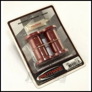 Rugged Ridge Shackle Bushing Kit Red Front or Rear For 1987-95 Jeep Wrangler YJ 18366.03