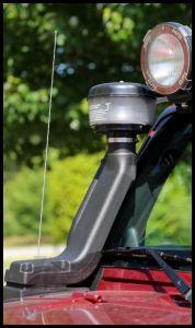 Rugged Ridge XHD Snorkel Kit With Pre-Filter For 2007-18 Jeep Wrangler JK 2 Door & Unlimited 4 Door Models With 3.6/3.8L Engine 17756.22