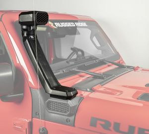 Rugged Ridge XHD Snorkel System High Mount Snorkel System For 2018+ Jeep Gladiator JT & Wrangler JL 2 Door & Unlimited 4 Door Models 17756.36